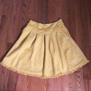 Dresses & Skirts - Maeve Tweed Pleated Full Skirt Size 12